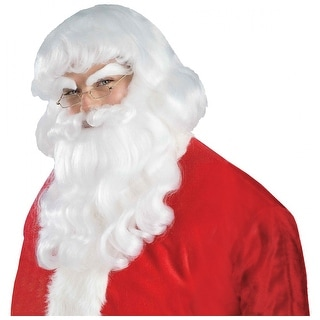 Santa Wig and Beard Adult Costume Accessory