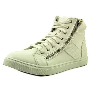 Material Girl Everet Women  Round Toe Synthetic White Sneakers