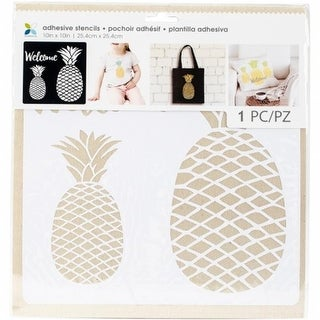 Momenta 28748 10 x 10 in. Pineapple Pattern Adhesive Stencils