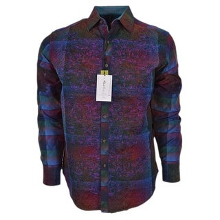 Robert Graham DOCTOR O Classic Fit Limited Edition Woven Sports Shirt