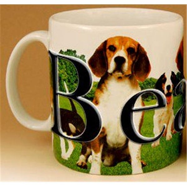 cf4a2e2c01b9 Americaware PMBEA01 18oz. Beagle Mug for Dog Lovers