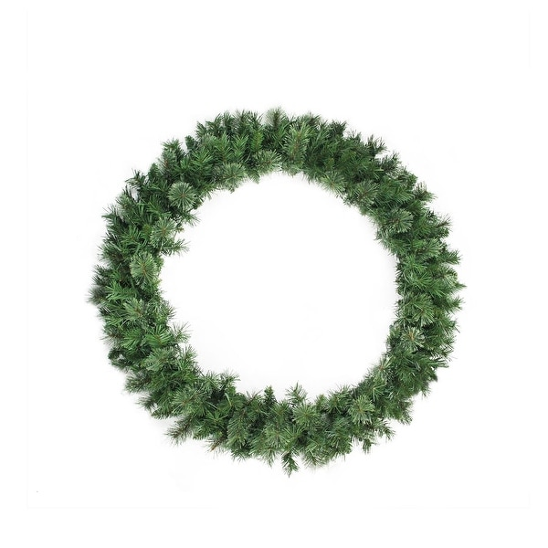 "48"" Mixed Cashmere Pine Artificial Christmas Wreath - Unlit"