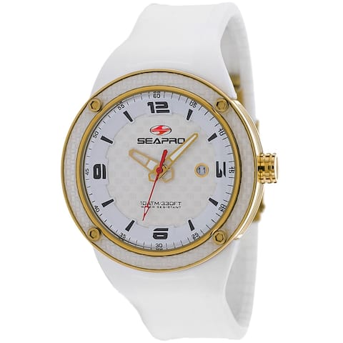 Seapro Men's Driver White Dial Watch - SP2115 - One Size