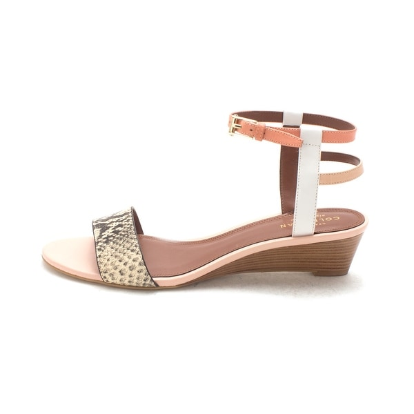 Cole Haan Womens Kaelasam Open Toe Casual Ankle Strap Sandals - 6