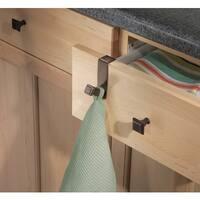 """InterDesign 33571 Marcel Over The Cabinet Hook, 1"""" x 2.5"""" x 3"""", Bronze"""