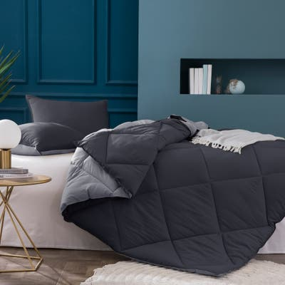 Kasentex 2-Tone Reversible Comforter Set
