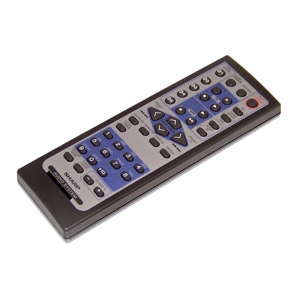 OEM Sharp Remote Control Originally Shipped With CD-MPX880, CDMPX880