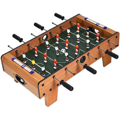 """27"""" Foosball Table Mini Tabletop Soccer Game - 27.5"""" x 14"""" x 10""""(L x W x H)"""