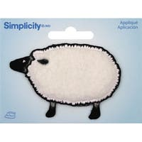 Wrights Iron-On Applique-Sheep