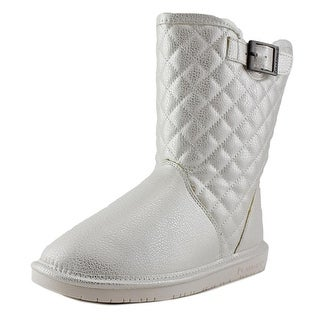 Bearpaw Leigh Anne Women Round Toe Synthetic White Winter Boot