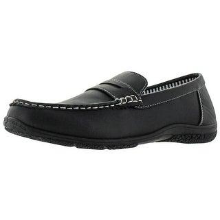 Revenant Men's Designer Driver Slip On Penny Loafers Shoes Moccasin Moc Toe
