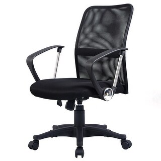 Costway Modern Ergonomic Mesh Mid-back Executive Computer Desk Task Office Chair