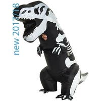Skeleton T-Rex Inflatable Adult Costume, One Size