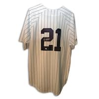 Autographed Paul ONeill New York Yankees White Majestic Jersey