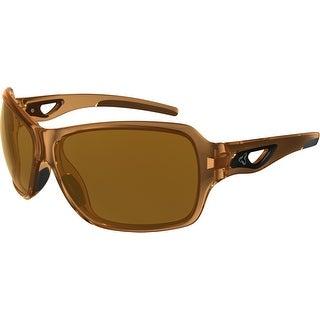 Ryders Eyewear Carlita Brown Crystal with AntiFog Brown Lens Sunglasses