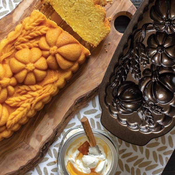 Nordic Ware Wheat & Pumpkin Pan. Opens flyout.