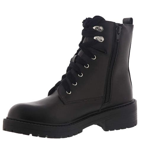 ceb8a5f2cf0 Buy Faux Leather Madden Girl Women's Boots Online at Overstock | Our ...
