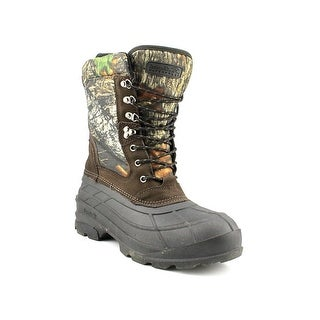 Kamik Nation Camo Men Round Toe Leather Work Boot