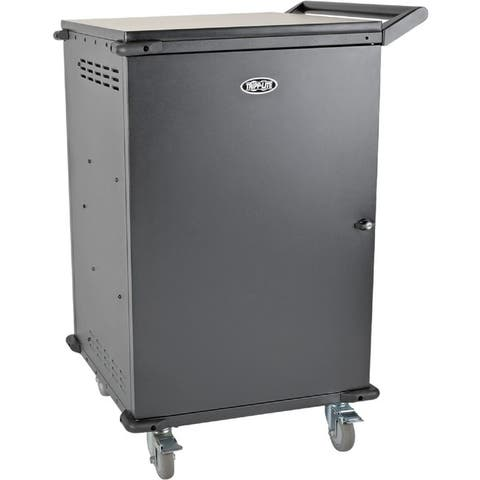 Tripp lite csc42ac 42-device ac mobile charging cart laptops and chromebooks, 120v, nema 5-15p, 10 - Black