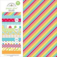 "Summer - Doodlebug Paper Plus Value Pack 12""X12"" 8/Pkg"