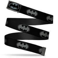 Bat Signal 3 Fcg Black Gray Black Chrome Bat Signal 3 Black Gray Black Web Belt