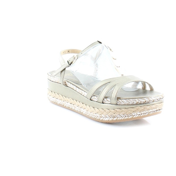 Stuart Weitzman Flecha Wedge Women's Sandals & Flip Flops Ale Washed