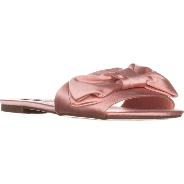 ZiGi Valiant Flat Slide Sandals, Light Pink