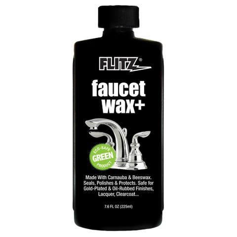 Flitz Faucet Waxx Plus - 7.6oz Bottle