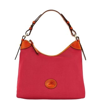 Dooney & Bourke Nylon Large Erica (Introduced by Dooney & Bourke at $149 in Jul 2016) - Cranberry