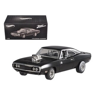 1970 Dodge Charger Elite Edition The Fast & Furious Movie 2001 1/43 Diecast Car Model by Hotwheels