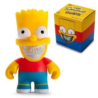"""The Simpsons Kidrobot x Ron English Bart Grin 3"""" Mini Figure - multi"""