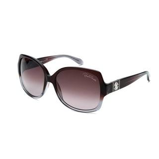 Roberto Cavalli Women's Ginestra Oversized Sunglasses Brown/Grey - Small