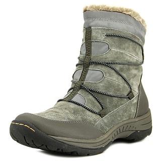 Baretraps Rusty Women Round Toe Suede Gray Winter Boot