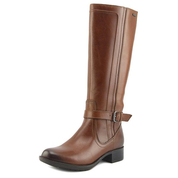 Rockport Christy Women Round Toe Leather Tan Knee High Boot
