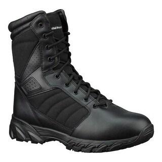 """Smith & Wesson Men's Breach 2.0 8"""" Boot Black Leather/Nylon"""