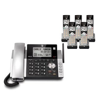 """""""AT&T CL84215 plus (3) CL80115 Corded / Cordless Phone"""""""