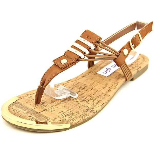 Madden Girl Tory Open-Toe Synthetic Slingback Sandal
