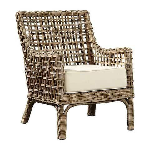 Walton Contemporary Kubu Rattan Arm Chair