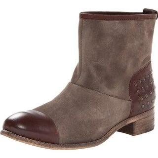 Diba True Womens Rad Ient Suede Studded Ankle Boots - 6 medium (b,m)