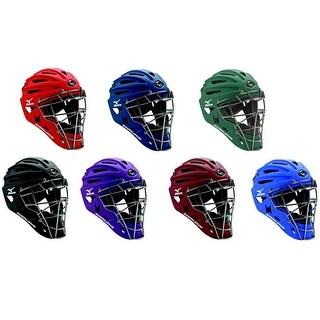 Mizuno Samurai G4 Youth Baseball & Softball Catcher's Helmet, 7 Colors. 380192