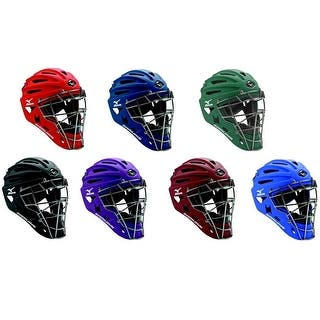 Mizuno Samurai G4 Youth Baseball & Softball Catcher's Helmet, 7 Colors. 380192|https://ak1.ostkcdn.com/images/products/is/images/direct/ec7d899b268d8314faabd001cbd42fc90a9041b9/Mizuno-Samurai-G4-Youth-Baseball-%26-Softball-Catcher%27s-Helmet%2C-7-Colors.-380192.jpg?impolicy=medium