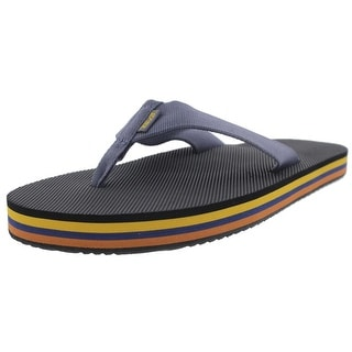 Teva Mens Deckers Slide Thong Flip-Flops - 8 medium (d)