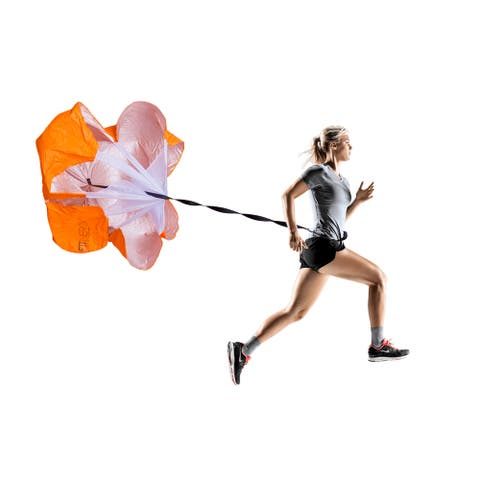 """F1TNERGY Running Resistance Parachute Durable 56"""" -Free Carrying Bag - N/A"""