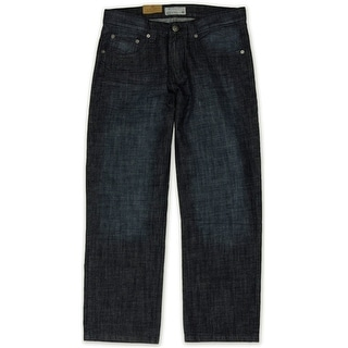 Link to Ecko Unltd. Mens Core Coastal Relaxed Jeans, blue, 28W x 32L Similar Items in Pants