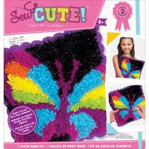 Butterfly - Sew Cute! Latch Hook Kit