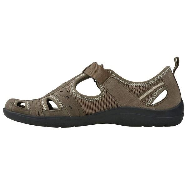 04bb93fead051 Shop Earth Origins Womens Taye Leather Closed Toe Casual Slingback ...