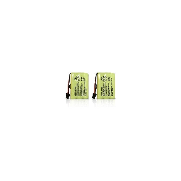 Replacement Battery for Uniden TRU9380 / TCX930 Phone Models (2 Pack)