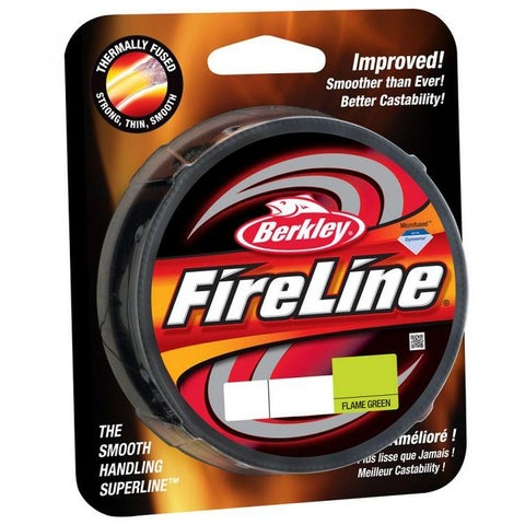 Berkley FireLine Fused Original Fishing Line (300 yds)- 14 lb Test - Flame Green