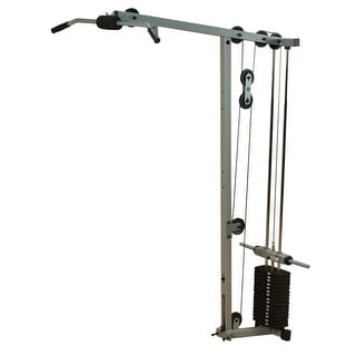 Body-Solid Powerline Lat Row Station Attachment for PowerLine Smith Machine - metal