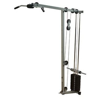 Body-Solid Powerline Lat Row Station Attachment for PowerLine Smith Machine - Metal